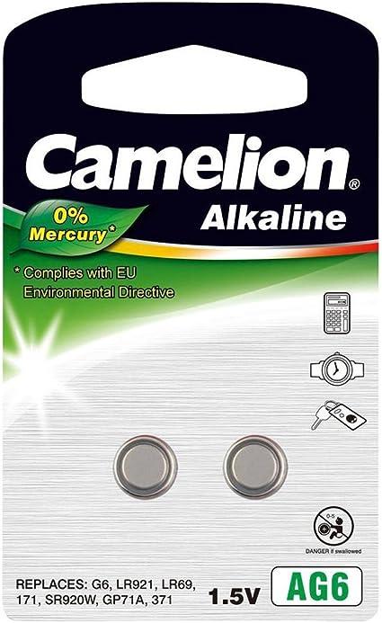 Camelion 120 50206 Ag 6 Lr69 Akku Mehrfarbig Elektronik