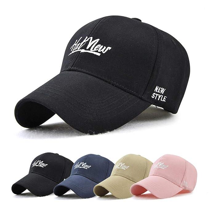 bf4c88f18ed86 Taihang Sombrero de béisbol al Aire Libre de la Gorra de béisbol Ajustable  para Hombre del Verano de los Hombres para Mujer Sombreros (Color   Color  Beige