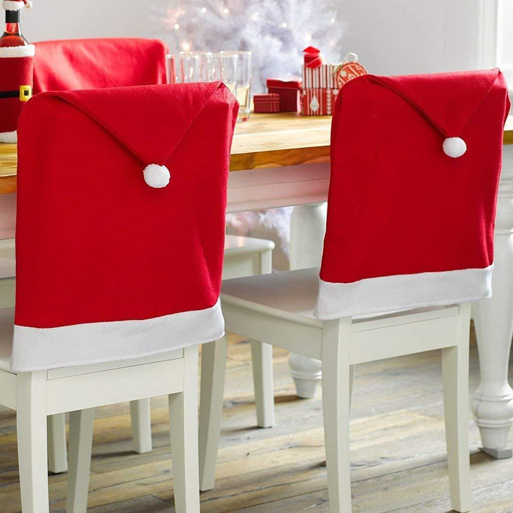 Amazon.com: CLOVERHOME - Juego de 6 fundas para sillas de ...