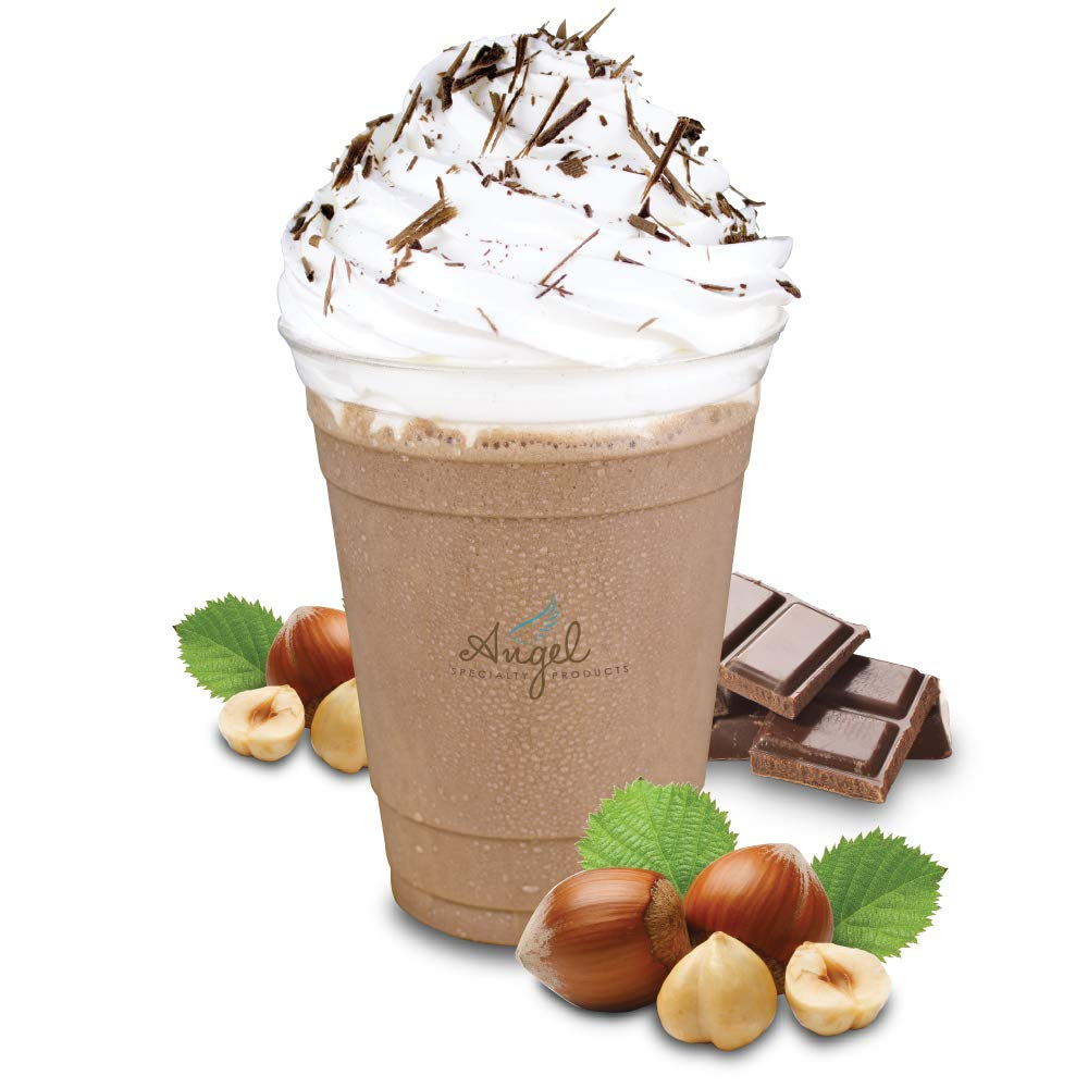 Chocolate Hazelnut by Angel Specialty Products Instant Frappe, Smoothie, Hot Chocolate Drink Mix
