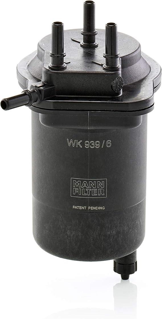 MANN-FILTER WK 939/6 Original Filtro de Combustible, Para automóviles