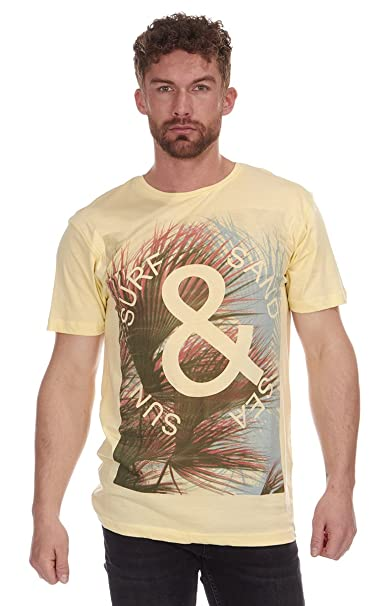 Cargo Bay Herren T-Shirt Gr. M, Yellow Surf