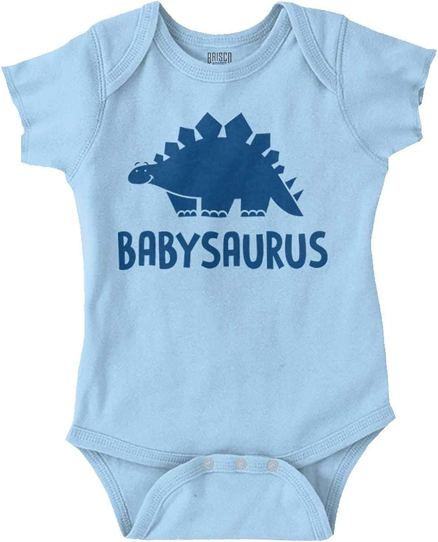 Babysaurus Cute Baby Dinosaur Brontosaurus Baby Romper Bodysuits