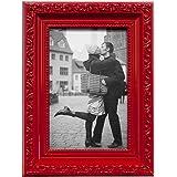 Porta Retrato Clássico Kapos Vermelho, 10 x 15 cm, 18 x 23 cm