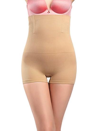 dc531771736b3 Lullabali Women s Tummy Control Shorts High Waist Body Shaper Panties  Slimming Shapewear Briefs at Amazon Women s Clothing store