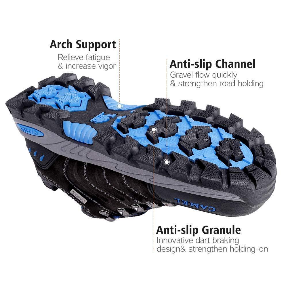 CAMEL CROWN Herren Wanderschuhe Rutschfeste Atmungsaktive Trekking-/& Wanderhalbschuhe M/änner Low Top Outdoorschuhe Traillaufschuhe Bequem Leicht Sports Sneaker Schuhe