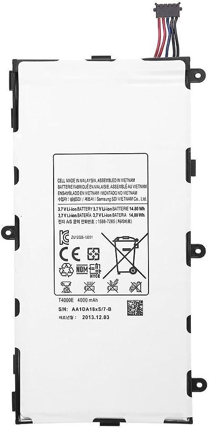 Amazon.com: Samsung Galaxy Tab 3 7.0 Batería de repuesto