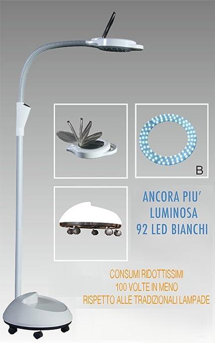 2 opinioni per DOBY S LAMPADA a 92 LED CON LENTE D'INGRANDIMENTO PROFESSIONALE e COPERCHIO