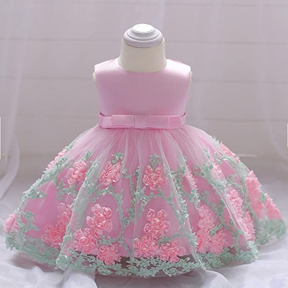 Amazon.com : MOM Baby dress female 2018 summer princess dress girl dress wedding pettiskirt : Sports & Outdoors