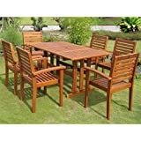 Beautiful International Caravan RE 07 1B 43 6CH IC Furniture Piece Royal Tahiti  Badalona 7 Patio Group