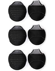 Sun Moon Anti-slip Forefoot Cushion Metatarsal Pads Ball Protector 3 Pairs