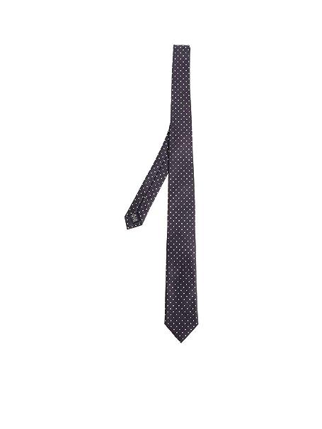 Ermenegildo Zegna Cravatta Uomo Z4d061l7b Seta Blu  Amazon.it  Abbigliamento 0b4351969e2