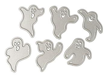 flashcat seis fantasmas cuchillo molde Halloween troqueles ...