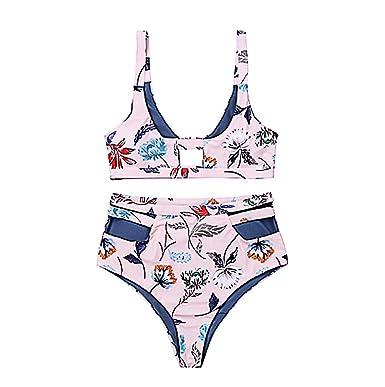c4f3e0a539 Amazon.com: brushboom Women 2PCS Padded Push-up Bra Bikini Set Swimsuit  Bathing Suit Beachwear: Clothing