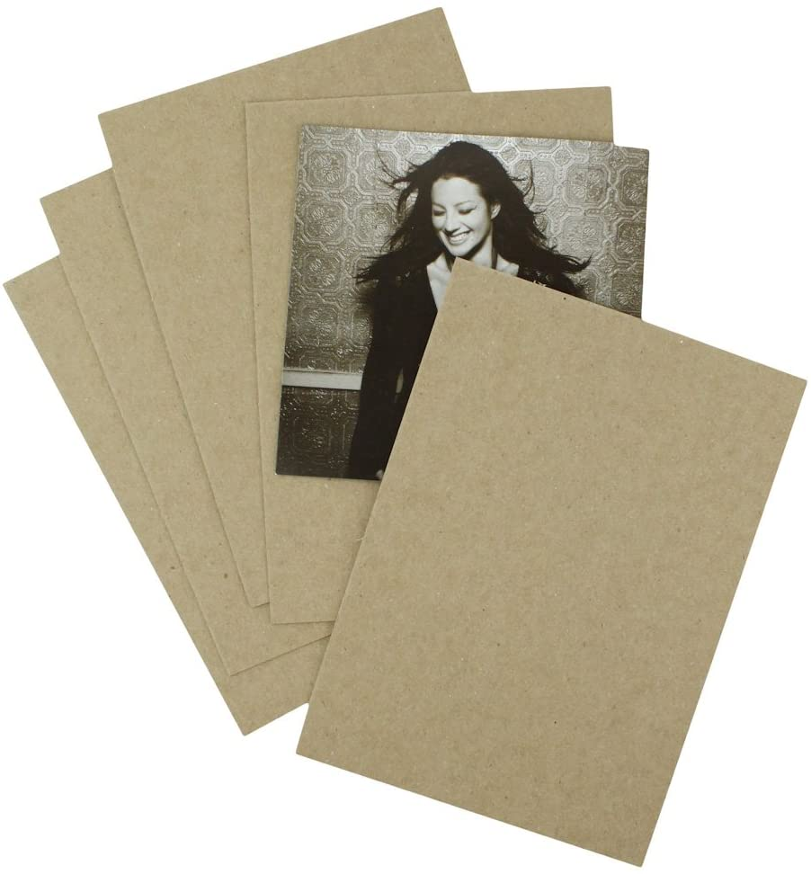 50 EcoSwift 8.5x11 Chipboard Cardboard Craft Scrapbook Material Scrapbooking Packaging Sheets Shipping Pads Inserts 8 1/2 inch x 11 inch Chip Board