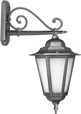 lisb417.1 – Iluminación para Exterior Farol a pared Farol Jardín – Producto de Italia de Valastro Lighting: Amazon.es: Iluminación