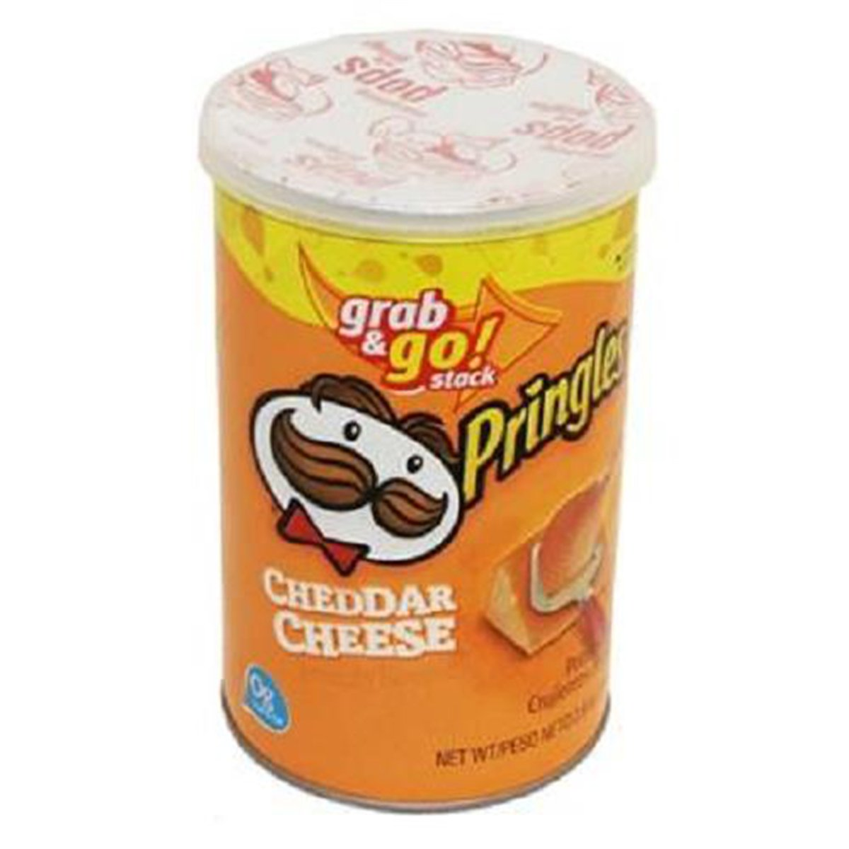 Product Of Pringles, Grab & Go - Cheddar Cheese Medium, Count 1 - Chips / Grab Varieties & Flavors by Product Of Pringles (Image #1)