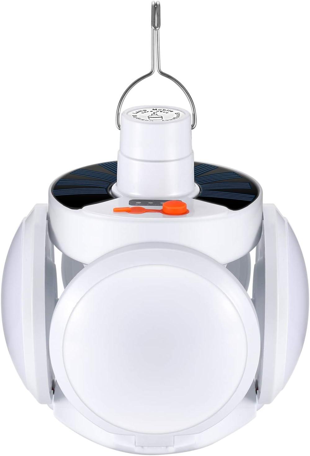 Tragbar USB Aufladbar Zelt Camping Lampe Fernbedienung Hängen Licht Laterne
