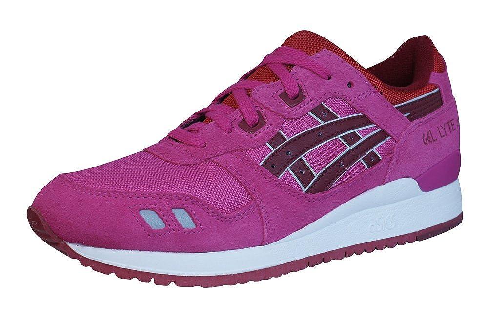 ASICS Gel Lyte III Zapatillas de Running Zapatillas Deportivas/ - H483N2526, Rosado: Amazon.es: Deportes y aire libre