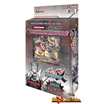 Buddyfight TCG Card Game 'Ruler of Havoc' Starter Trial Deck English BFE-X-TD02 52 cards!: Toys & Games