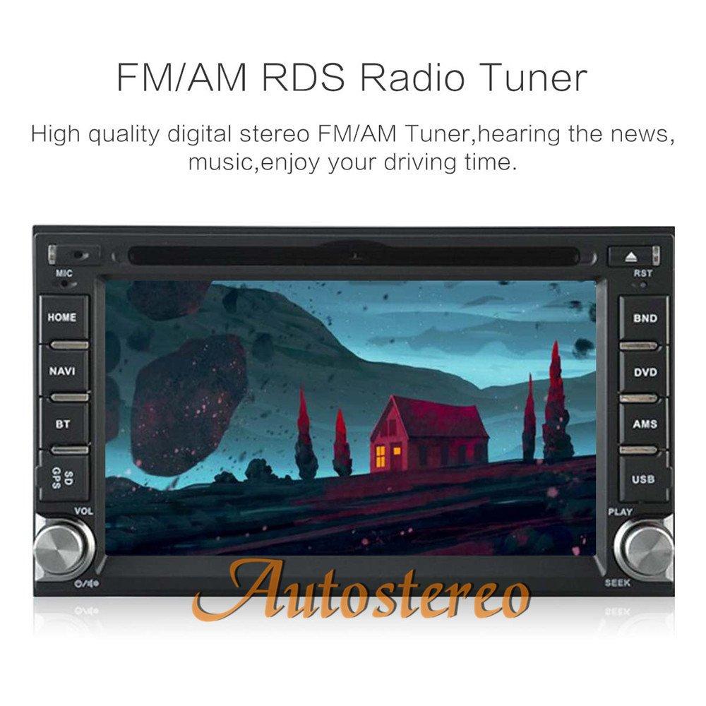 Autostereo SAT NAV 178*100 6.2 inch Universal Nissan Car DVD Player ...