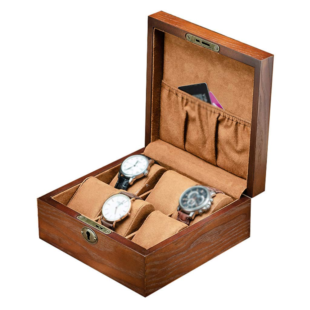 BAIF Caja de Reloj de Madera Caja de Almacenamiento Pulsera ...