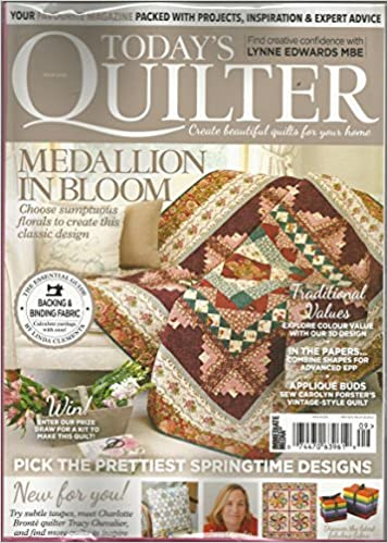 Today S Quilter Magazine 9 Textile Supplement Guide Various Amazon Com Books