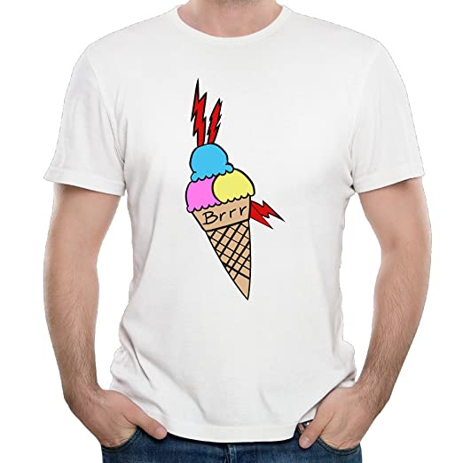 99eb35f3efa Image Unavailable. Image not available for. Color  Men Gucci Mane Ice Cream  Tattoo T Shirts ...