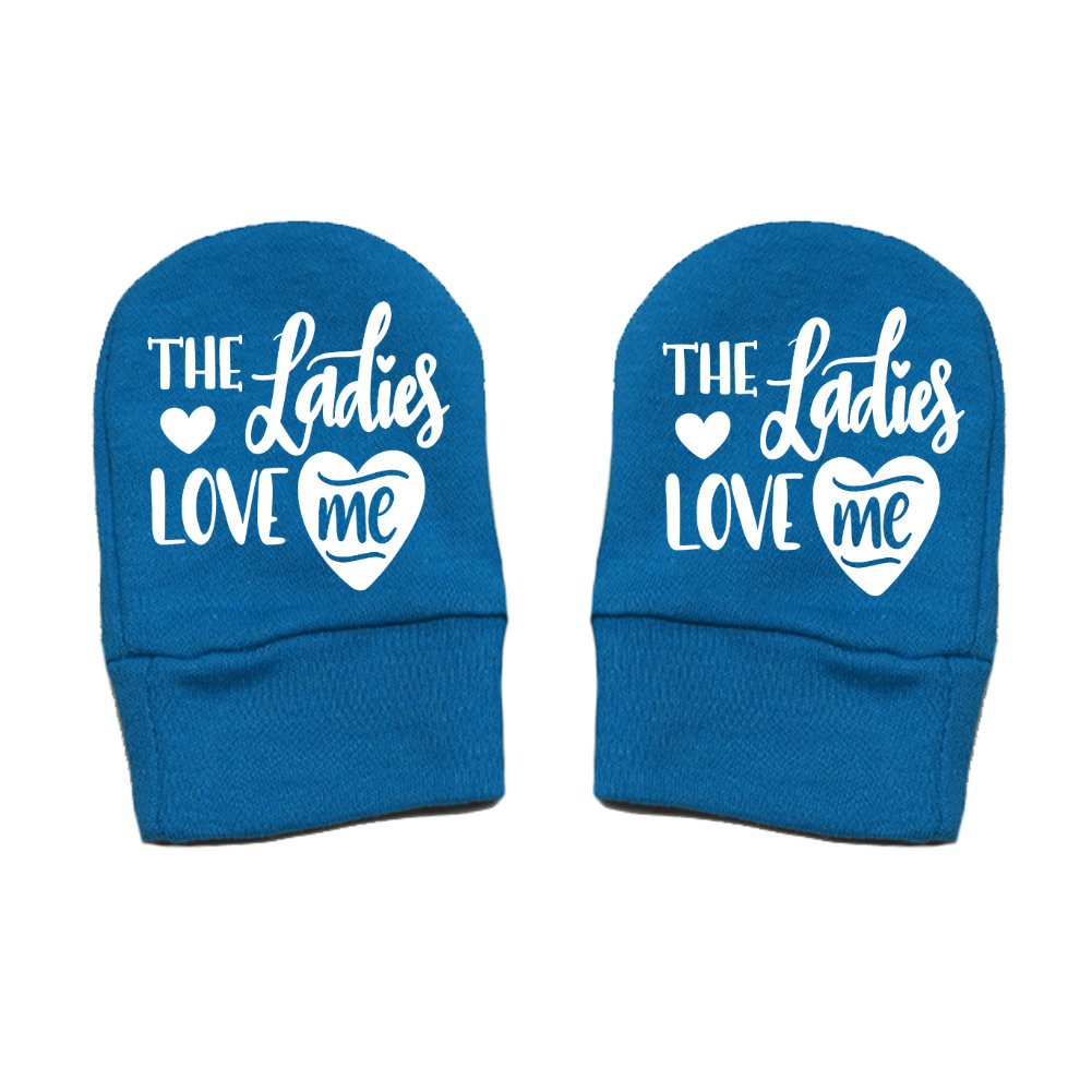 The Ladies Love Me Valentines Day Thick Premium Mashed Clothing Unisex-Baby Thick /& Soft Baby Mittens