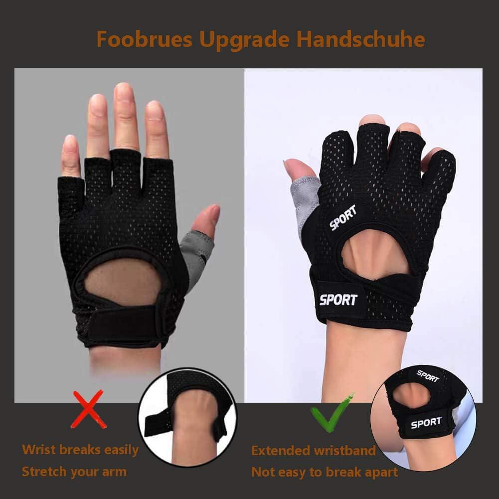 Trainingshandschuhe Fitness Handschuhe Krafttraining Bodybuilding Kraftsport