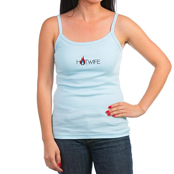 1362376906193c Amazon.com  CafePress - Hotwife - Jr. Spaghetti Tank Top