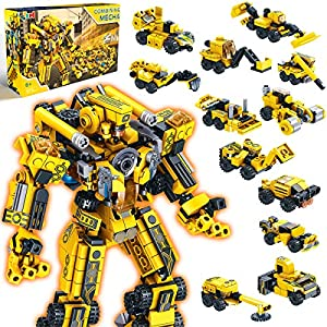 Best Epic Trends 61sVYYZ5i4L._SS300_ Innorock Robot STEM Building Kids Toys - Educational Robots Trucks Projects Activities Blocks Cool Toy Game for 5 6 7 8…