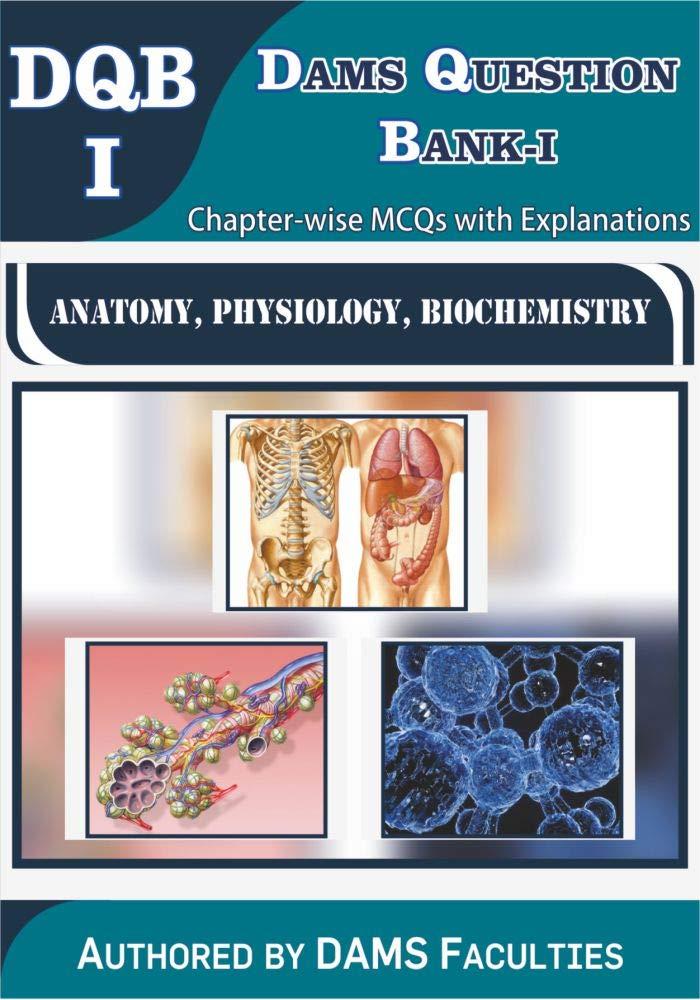 Buy DAMS Question Bank-I 2019 (DQB-I Anatomy, Physiology
