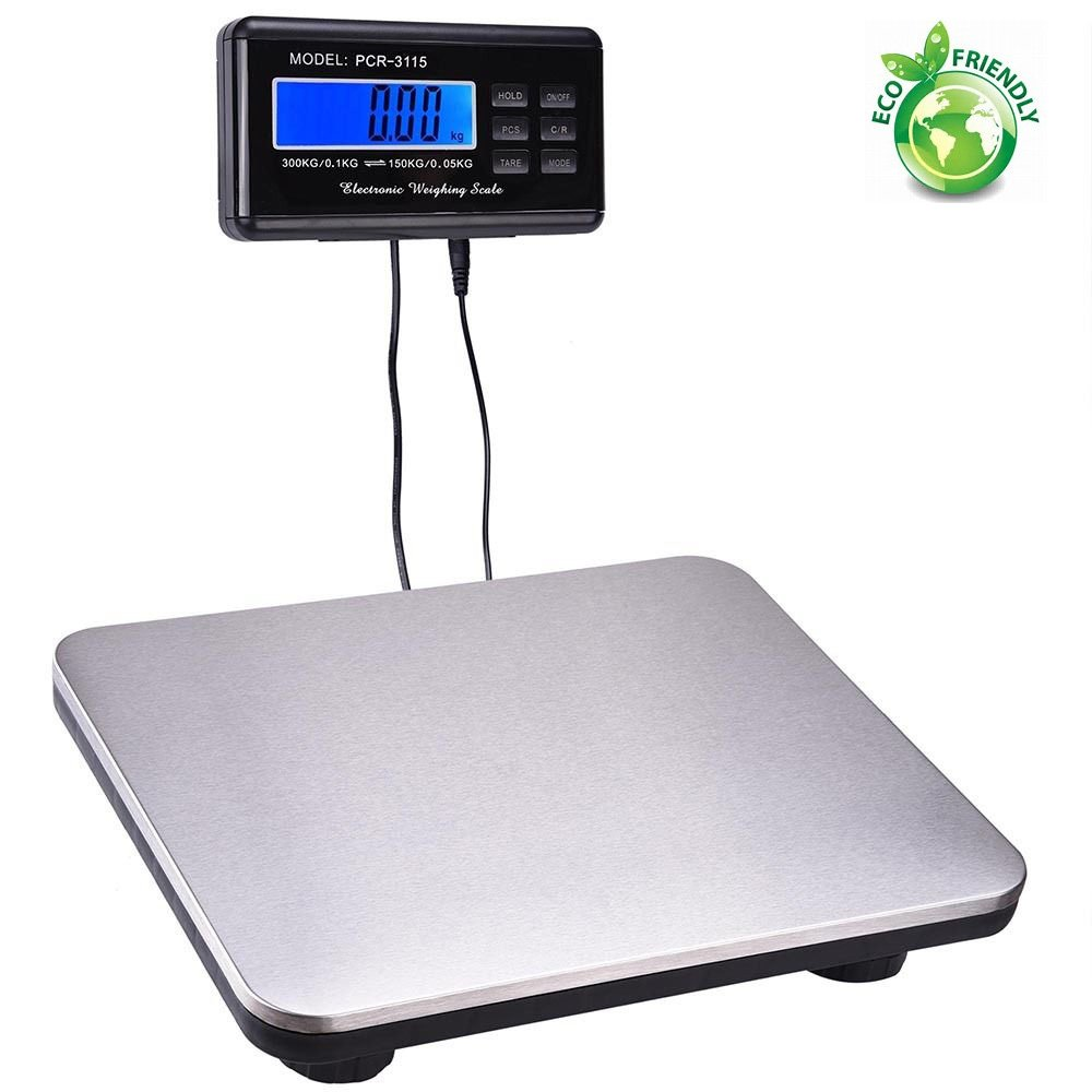 Digital Platform Scale Heavy Duty Shipping and Postal Floor Bench UPS USPS Post Office Postal Luggage Scale FCH High Precision Mode