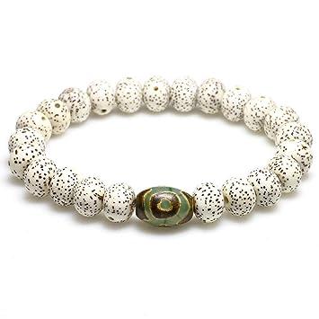 MHOOOA Tibeti Bodhi Seed Beads Bracelet For Women Zen Buddha ...