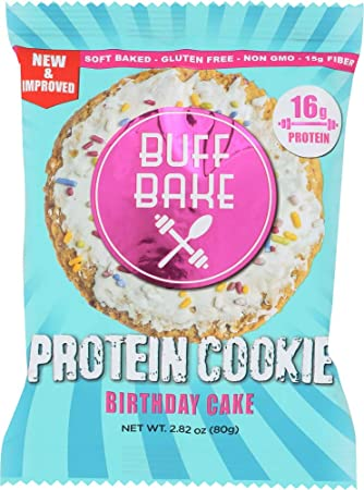 Amazon Buff Bake 1 Item ONLY Protein Cookie Birthday Cake Home Kitchen