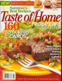 Taste Of Home, Recipe Card Collection, Summer 2008 Issue