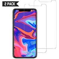 Screen Protector for iPhone 11 Pro Max/iPhone Xs Max [2 Pack] Easy to Install, 9H Scratch Resistance, Anti Bubble, CORN Protective Tempered Glass