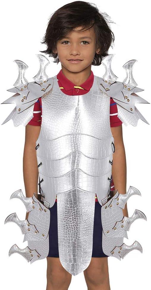 HUOFEIKE Niños Armadura De Dragón De Cuero, Disfraces Escénicos ...