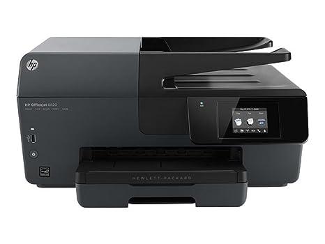 HP Officejet 6820 e todo en uno - Impresora multifunción (INYECCION, Negro, Color, ADF, Color, Ethernet, LAN inalámbrica, USB)