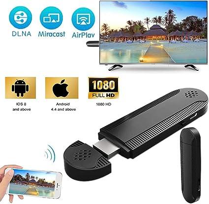 Adaptador HDMI inalámbrico Velidy, Receptor de Pantalla de 1080P ...