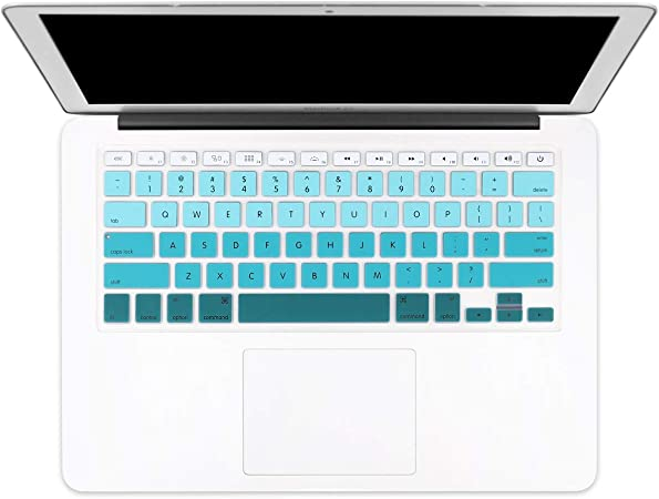 Color : White Keyboard Protector Silica Gel Film for MacBook Air 13 Durable A1932
