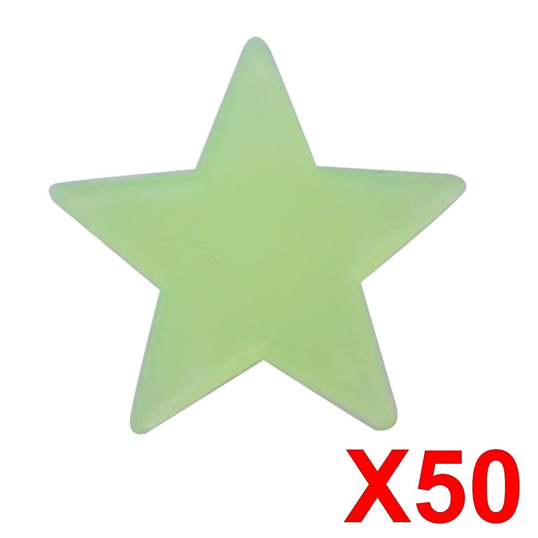 Anladia Wandtattoo Sternenhimmel Fluoreszierende Leuchtsterne