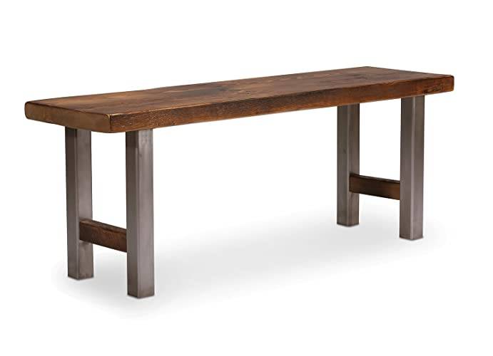 Astonishing Amazon Com Industrial Bench Dining Table Bench Entryway Gmtry Best Dining Table And Chair Ideas Images Gmtryco