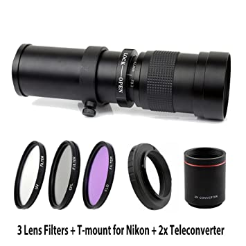 Amazon com : Lightdow 420-1600mm F/8 3-16 Super Telephoto