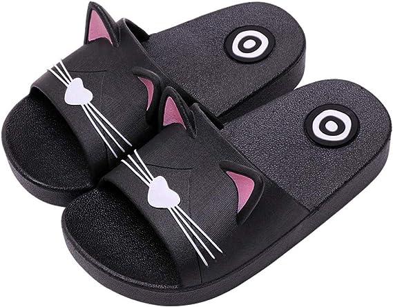 Kids Summer Slipper Fire Dragon House Slippers Shower Slide Anti-Slip Beach Pool Bath Sandals for Boys Girls