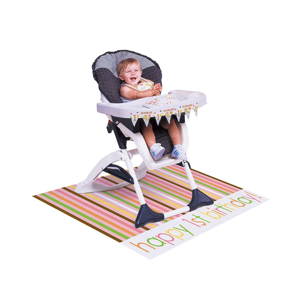 Amazoncom 3Piece High Chair Party Kit Circus Time Kitchen Dining