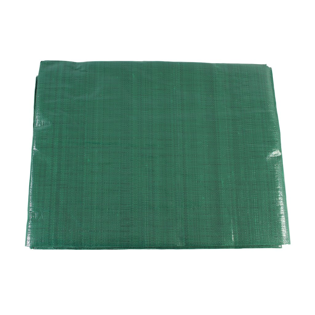 SGT KNOTS Poly Tarp - Available in 24 different sizes - 6 diffrent colors / thicknesses (Green / Silver - 20'x40')