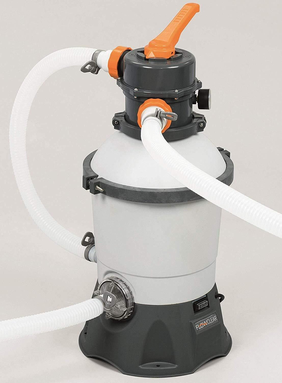 tubi COD Ferr 260619 Bestway Pompa filtro a sabbia 2006 lt//h mod 58397 piscina