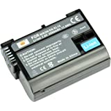 DSTE® EN-EL15 Ricaricabile Li-ion Batteria per Nikon D7000 D7100 D600 D610 D650 D750 D800 D800E D810 D810A 1V1 Macchina Fotografica